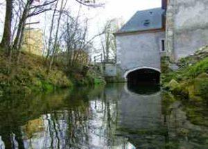 Trois moulins à eau
